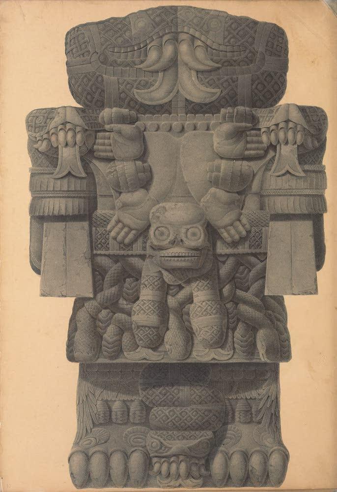 Coleccion de las Antiguedades Mexicanas - Idol (1827)