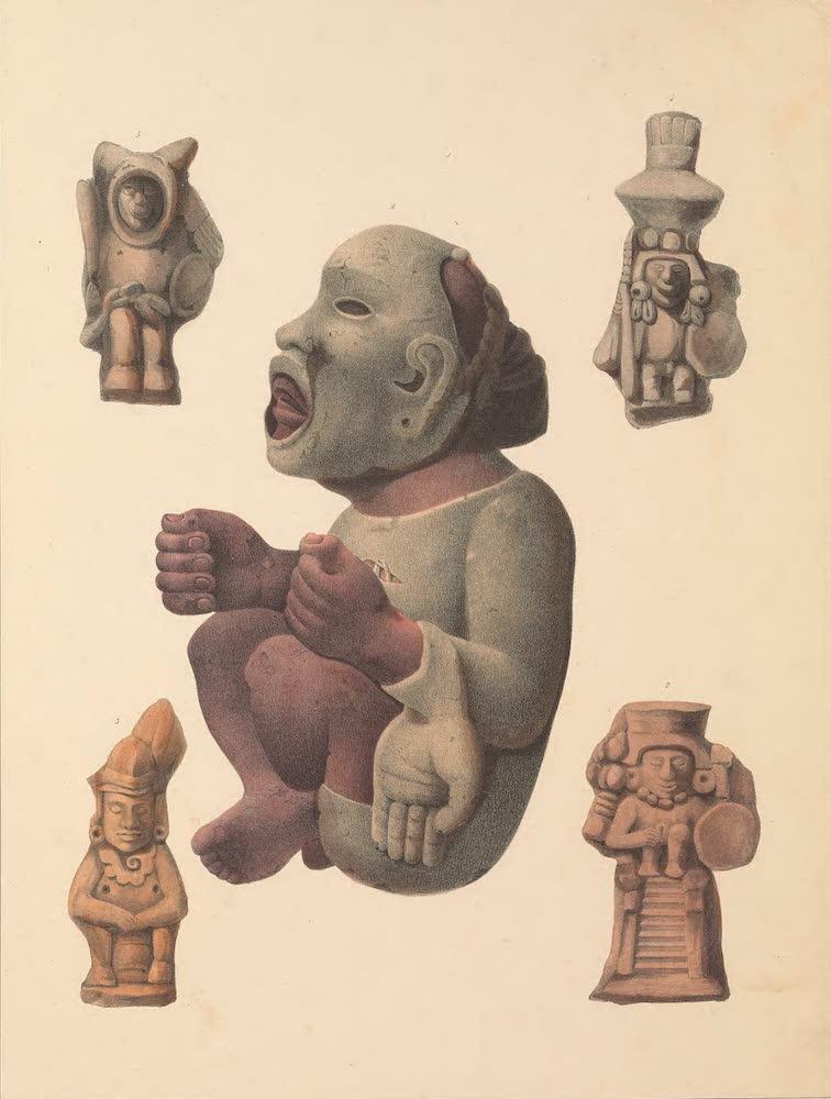 Coleccion de las Antiguedades Mexicanas - Figuras de Piedra y de Barro del Tiempo de los Indios Antiguos (1827)