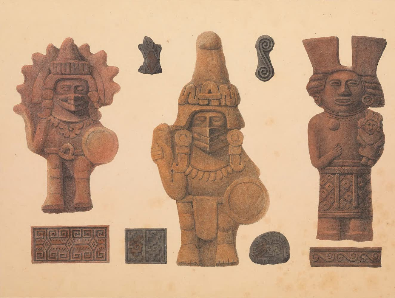 Assorted Idols and Ornaments
