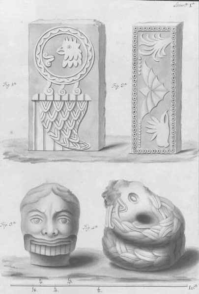 Coleccion General de Laminas de los Antiguos Monumentos de Nueva Espana - Primer Viage - Lamina 1 (1820)
