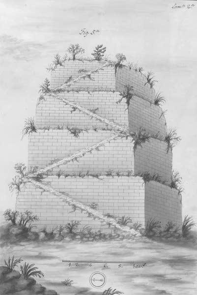 Coleccion General de Laminas de los Antiguos Monumentos de Nueva Espana - Primer Viage - Lamina 2 (1820)
