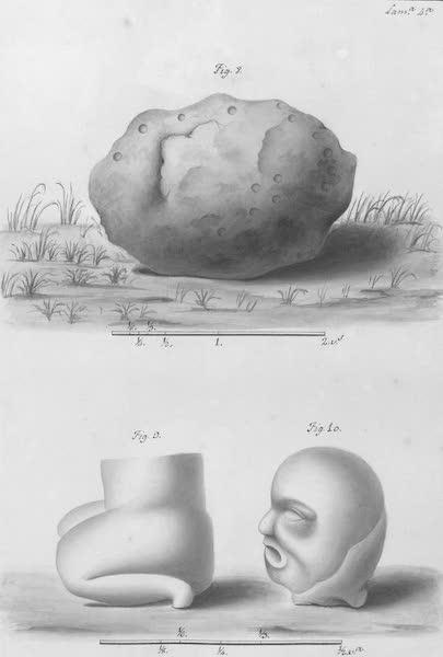 Coleccion General de Laminas de los Antiguos Monumentos de Nueva Espana - Primer Viage - Lamina 4 (1820)