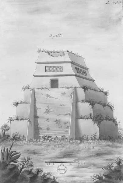 Coleccion General de Laminas de los Antiguos Monumentos de Nueva Espana - Primer Viage - Lamina 5 (1820)