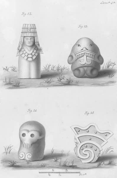 Coleccion General de Laminas de los Antiguos Monumentos de Nueva Espana - Primer Viage - Lamina 6 (1820)