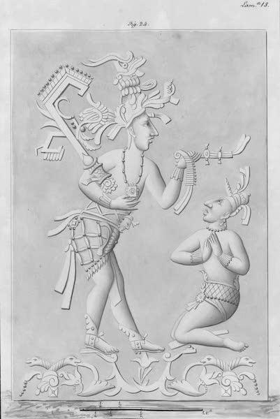 Coleccion General de Laminas de los Antiguos Monumentos de Nueva Espana - Tercer Viage - Lamina 18 (1820)