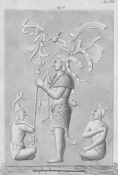 Coleccion General de Laminas de los Antiguos Monumentos de Nueva Espana - Tercer Viage - Lamina 19 (1820)