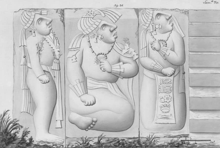 Coleccion General de Laminas de los Antiguos Monumentos de Nueva Espana - Tercer Viage - Lamina 20 (1820)