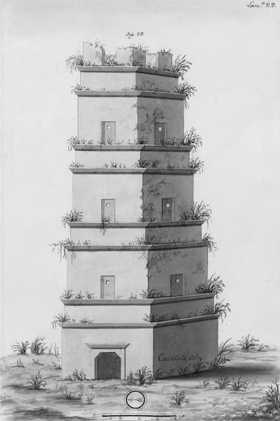 Coleccion General de Laminas de los Antiguos Monumentos de Nueva Espana - Tercer Viage - Lamina 22 (1820)