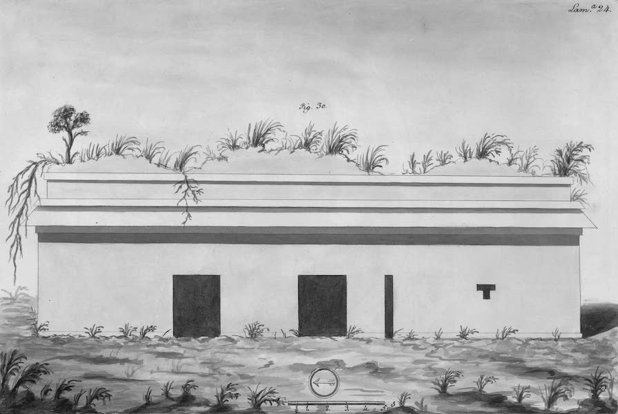 Coleccion General de Laminas de los Antiguos Monumentos de Nueva Espana - Tercer Viage - Lamina 24 (1820)