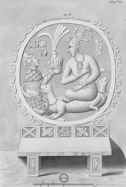 Coleccion General de Laminas de los Antiguos Monumentos de Nueva Espana - Tercer Viage - Lamina 25 (1820)