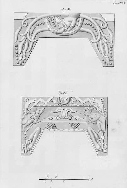 Coleccion General de Laminas de los Antiguos Monumentos de Nueva Espana - Tercer Viage - Lamina 26 (1820)