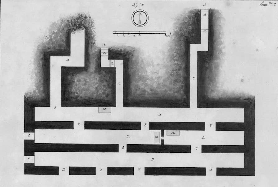 Coleccion General de Laminas de los Antiguos Monumentos de Nueva Espana - Tercer Viage - Lamina 27 (1820)
