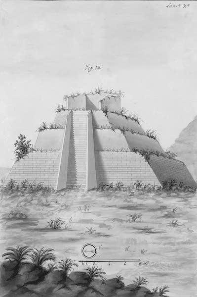 Coleccion General de Laminas de los Antiguos Monumentos de Nueva Espana - Primer Viage - Lamina 7 (1820)