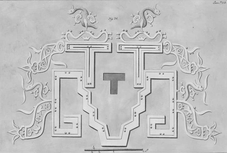 Coleccion General de Laminas de los Antiguos Monumentos de Nueva Espana - Tercer Viage - Lamina 29 (1820)