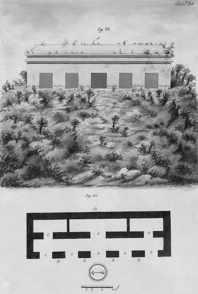 Coleccion General de Laminas de los Antiguos Monumentos de Nueva Espana - Tercer Viage - Lamina 31 (1820)