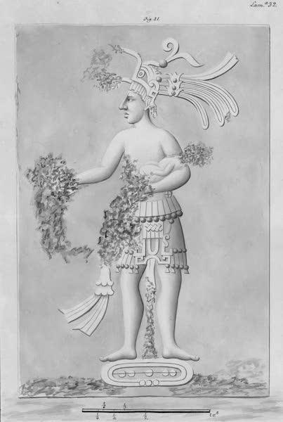 Coleccion General de Laminas de los Antiguos Monumentos de Nueva Espana - Tercer Viage - Lamina 32 (1820)