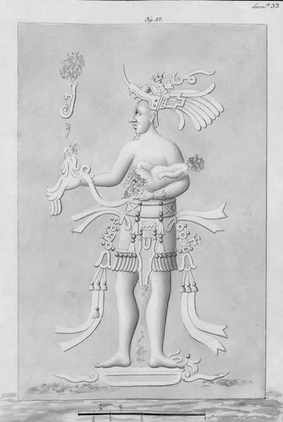 Coleccion General de Laminas de los Antiguos Monumentos de Nueva Espana - Tercer Viage - Lamina 33 (1820)
