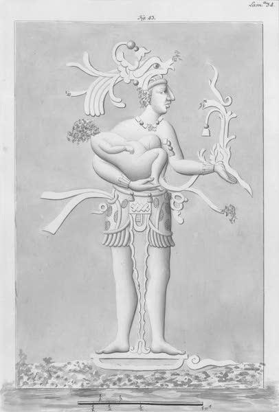 Coleccion General de Laminas de los Antiguos Monumentos de Nueva Espana - Tercer Viage - Lamina 34 (1820)