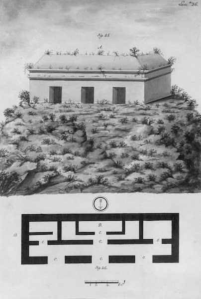 Coleccion General de Laminas de los Antiguos Monumentos de Nueva Espana - Tercer Viage - Lamina 36 (1820)