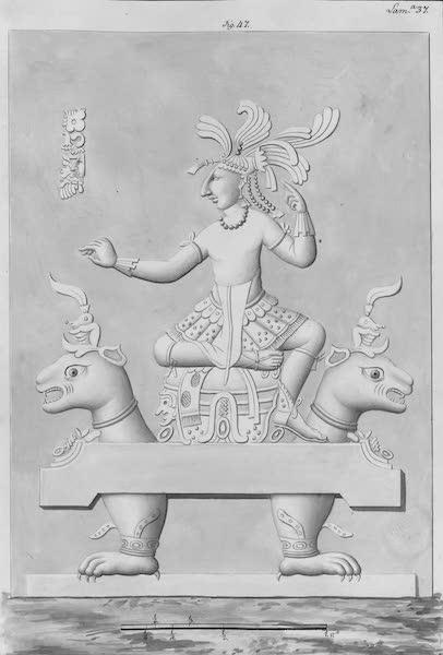 Coleccion General de Laminas de los Antiguos Monumentos de Nueva Espana - Tercer Viage - Lamina 37 (1820)