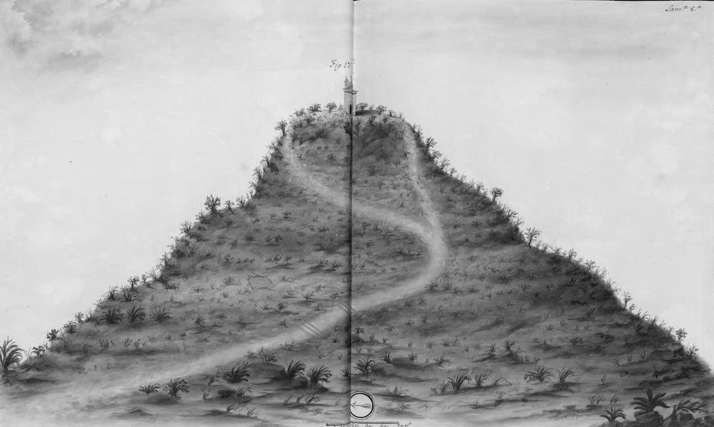Coleccion General de Laminas de los Antiguos Monumentos de Nueva Espana - Primer Viage - Lamina 8 (1820)