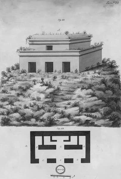 Coleccion General de Laminas de los Antiguos Monumentos de Nueva Espana - Tercer Viage - Lamina 38 (1820)