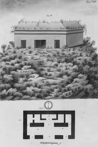 Coleccion General de Laminas de los Antiguos Monumentos de Nueva Espana - Tercer Viage - Lamina 39 (1820)