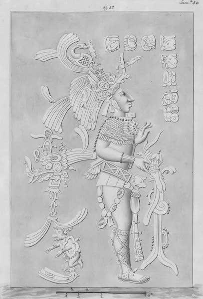 Coleccion General de Laminas de los Antiguos Monumentos de Nueva Espana - Tercer Viage - Lamina 40 (1820)