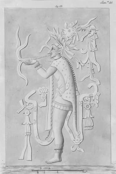 Coleccion General de Laminas de los Antiguos Monumentos de Nueva Espana - Tercer Viage - Lamina 41 (1820)
