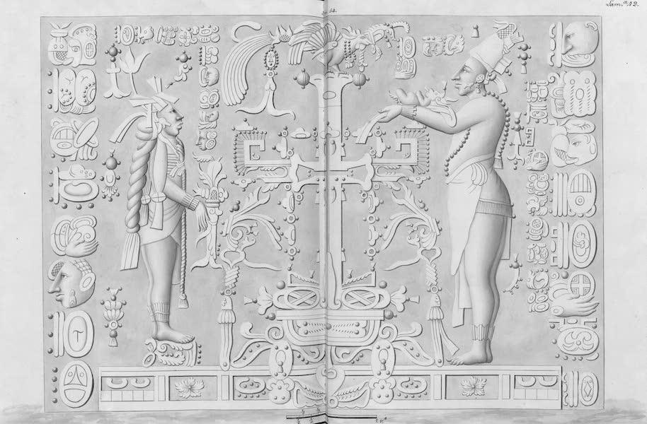 Coleccion General de Laminas de los Antiguos Monumentos de Nueva Espana - Tercer Viage - Lamina 42 (1820)