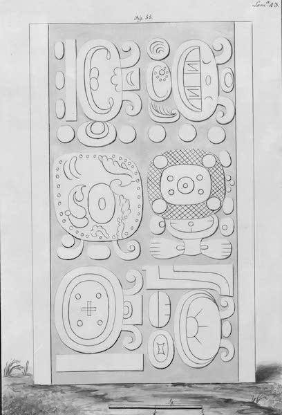 Coleccion General de Laminas de los Antiguos Monumentos de Nueva Espana - Tercer Viage - Lamina 43 (1820)