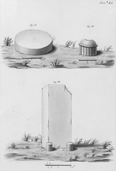 Coleccion General de Laminas de los Antiguos Monumentos de Nueva Espana - Tercer Viage - Lamina 45 (1820)