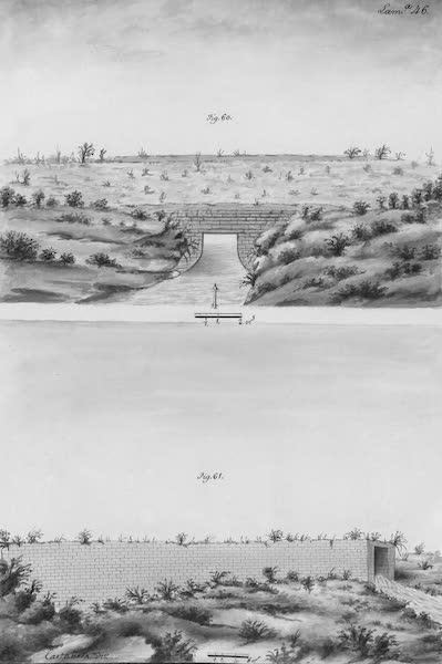 Coleccion General de Laminas de los Antiguos Monumentos de Nueva Espana - Tercer Viage - Lamina 46 (1820)