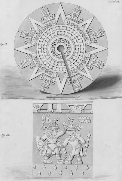 Coleccion General de Laminas de los Antiguos Monumentos de Nueva Espana - Tercer Viage - Lamina 48 (1820)