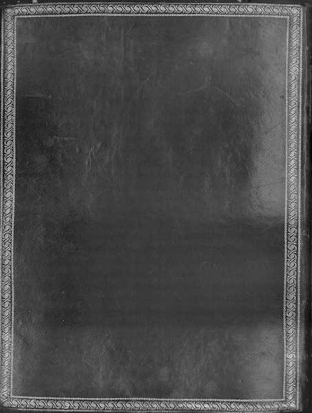Coleccion General de Laminas de los Antiguos Monumentos de Nueva Espana - Back Cover (1820)