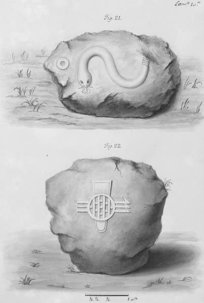 Coleccion General de Laminas de los Antiguos Monumentos de Nueva Espana - Primer Viage - Lamina 10 (1820)