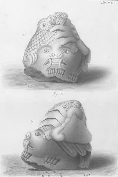 Coleccion General de Laminas de los Antiguos Monumentos de Nueva Espana - Primer Viage - Lamina 11 (1820)