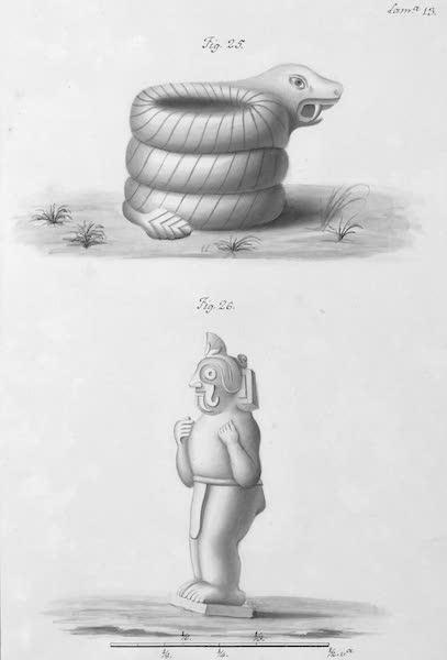 Coleccion General de Laminas de los Antiguos Monumentos de Nueva Espana - Primer Viage - Lamina 13 (1820)