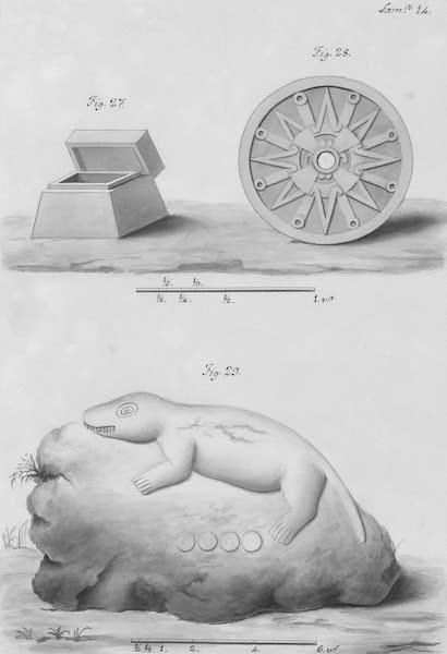 Coleccion General de Laminas de los Antiguos Monumentos de Nueva Espana - Primer Viage - Lamina 14 (1820)