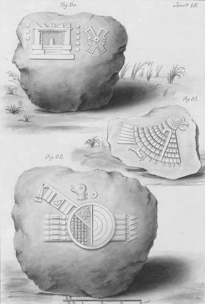 Coleccion General de Laminas de los Antiguos Monumentos de Nueva Espana - Primer Viage - Lamina 15 (1820)