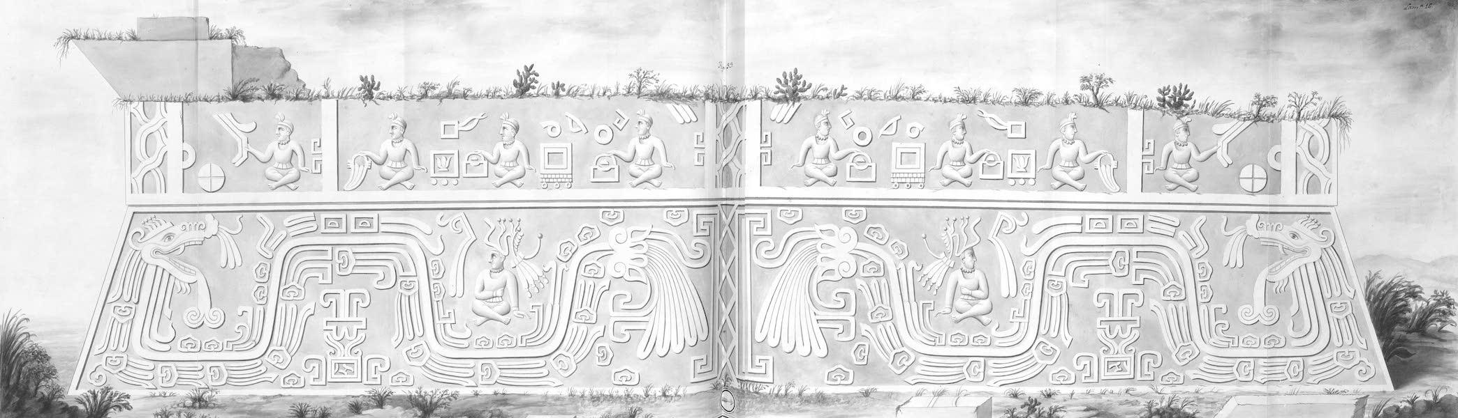 Coleccion General de Laminas de los Antiguos Monumentos de Nueva Espana - Primer Viage - Lamina 16 (1820)