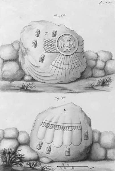 Coleccion General de Laminas de los Antiguos Monumentos de Nueva Espana - Segundo Viage - Lamina 2 (1820)