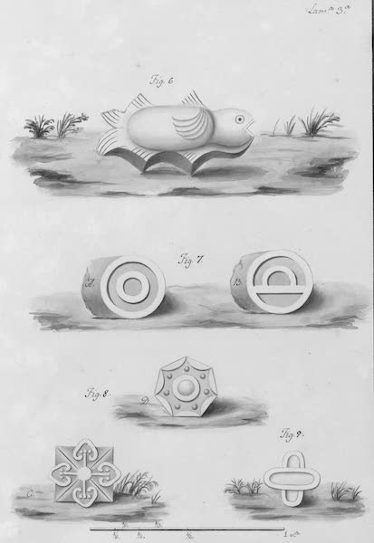 Coleccion General de Laminas de los Antiguos Monumentos de Nueva Espana - Segundo Viage - Lamina 3 (1820)