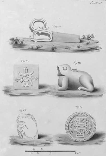 Coleccion General de Laminas de los Antiguos Monumentos de Nueva Espana - Segundo Viage - Lamina 4 (1820)
