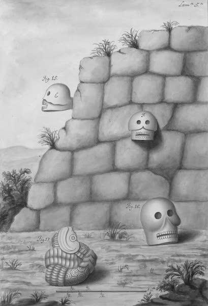 Coleccion General de Laminas de los Antiguos Monumentos de Nueva Espana - Segundo Viage - Lamina 5 (1820)