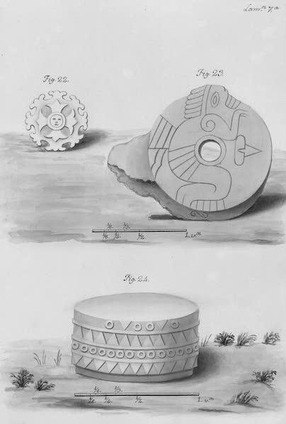 Coleccion General de Laminas de los Antiguos Monumentos de Nueva Espana - Segundo Viage - Lamina 7 (1820)