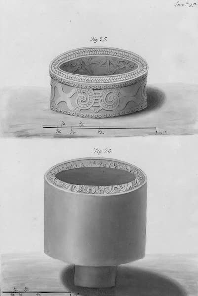 Coleccion General de Laminas de los Antiguos Monumentos de Nueva Espana - Segundo Viage - Lamina 8 (1820)