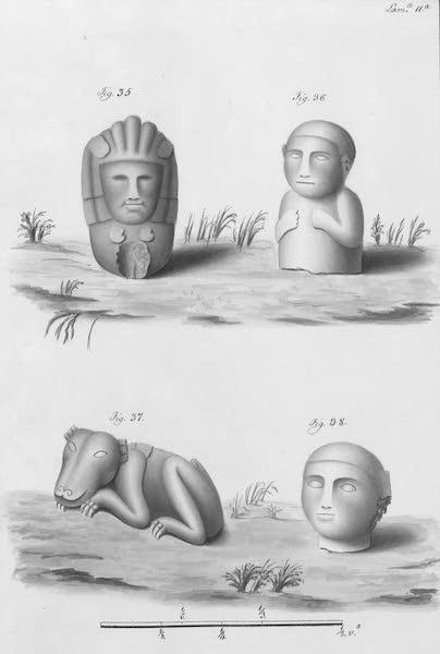 Coleccion General de Laminas de los Antiguos Monumentos de Nueva Espana - Segundo Viage - Lamina 11 (1820)