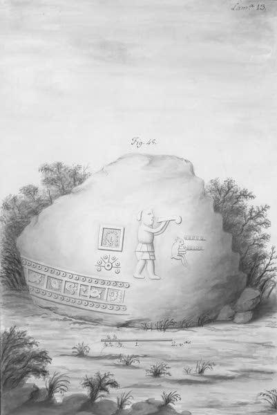 Coleccion General de Laminas de los Antiguos Monumentos de Nueva Espana - Segundo Viage - Lamina 13 (1820)