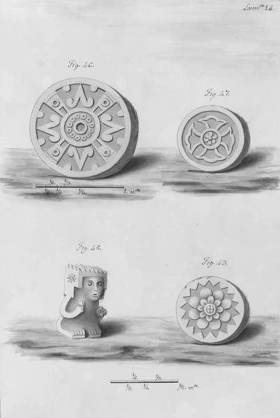 Coleccion General de Laminas de los Antiguos Monumentos de Nueva Espana - Segundo Viage - Lamina 14 (1820)